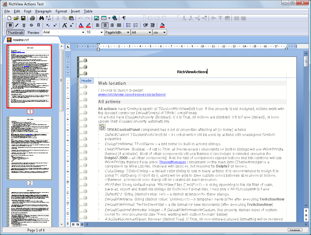 delphi компоненты pdf